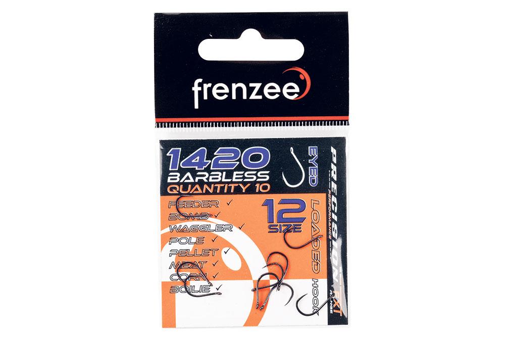 Frenzee Loaded Hooks 1420 Spade /& Eyed 8 Options Available Match Pole Fishing
