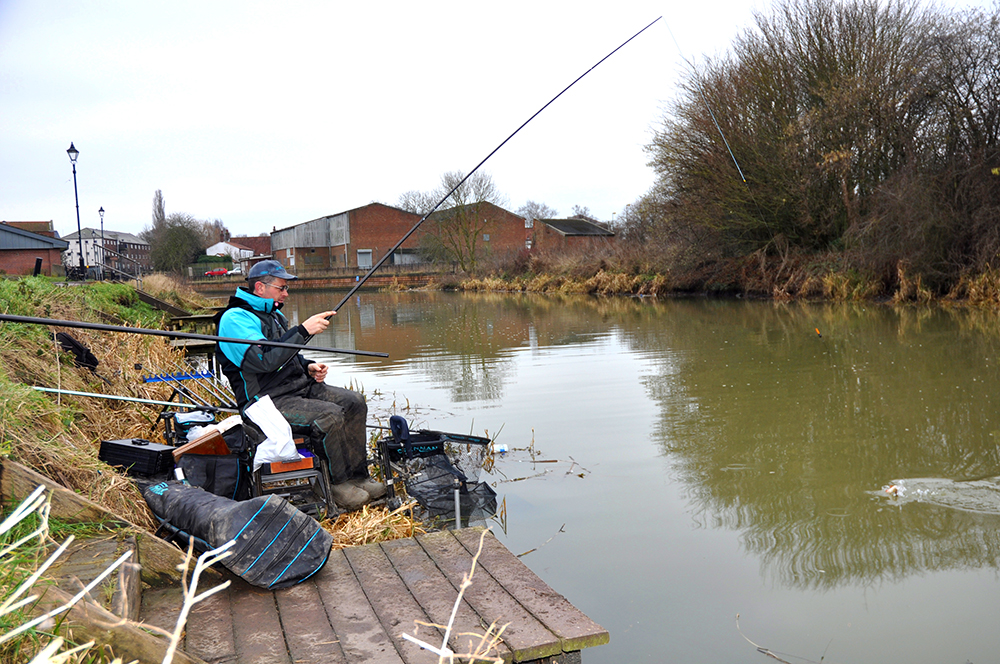 Simon Fields was on the perch to win.