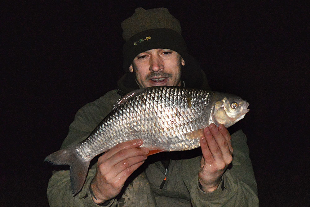 Daniel Woolcott took this 3lb 11oz roach on the first session of his current winter campaign at Highbridge.