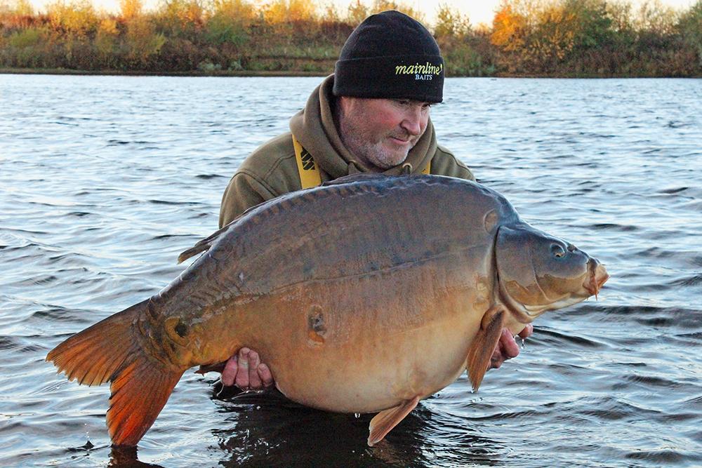 Dave's best Holme Fen fish at 54lb 14oz.