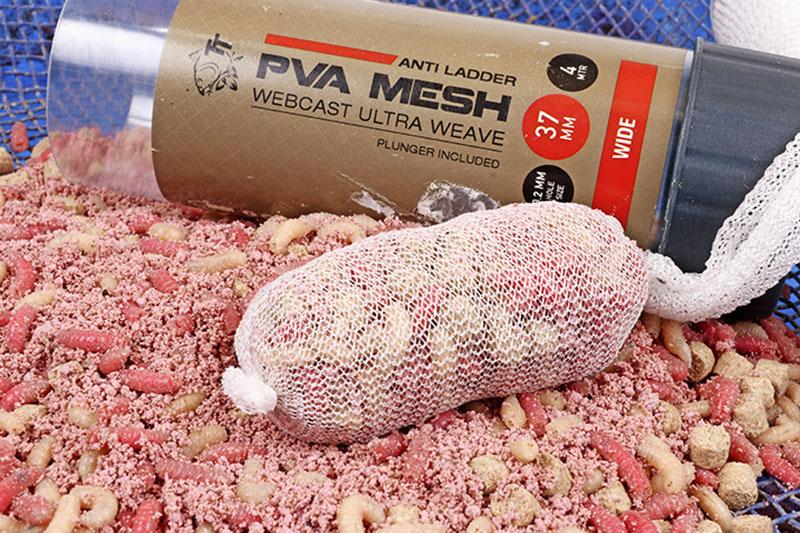 PVA mesh 100 metre refill plus coloured nuggets