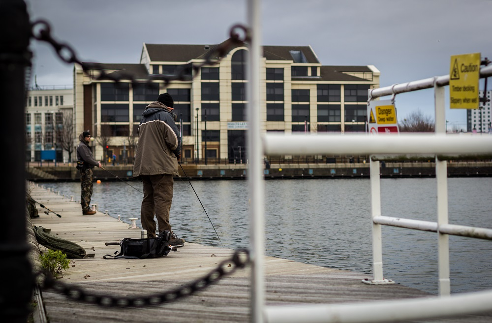 Salford Quays is a great lure fishing venue