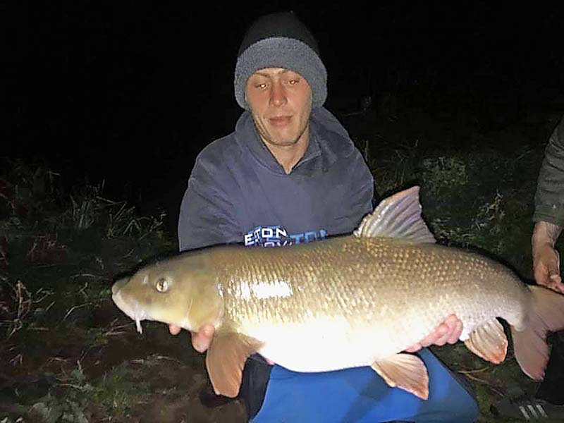 Big Barbel Landed From Across The Country Angling Times