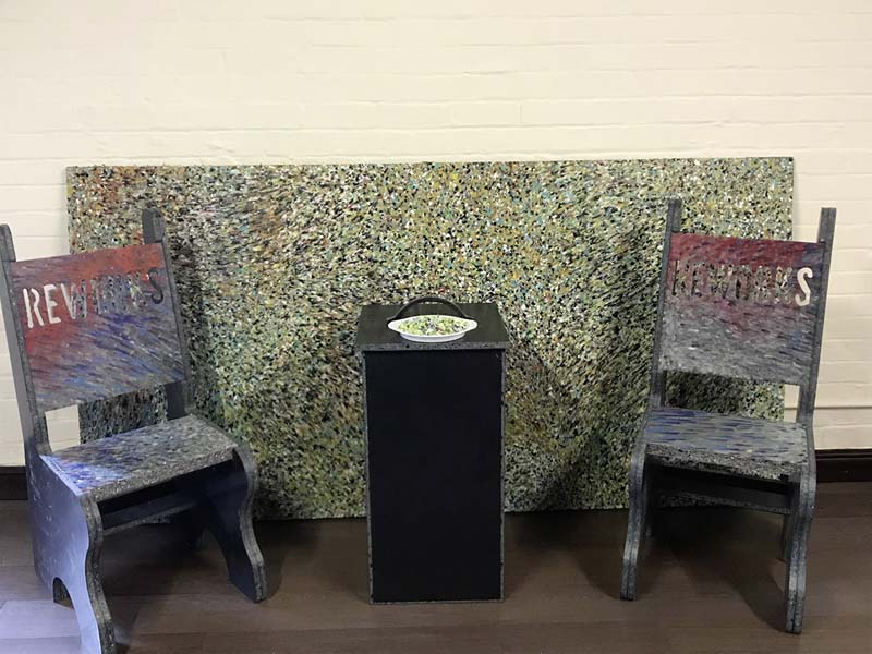 Chairs, worktops and cabinets made from melted down fishing lines_1.jpg