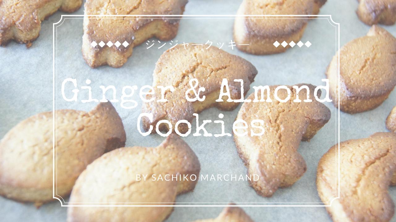 グルテンフリージンジャークッキーレシピ