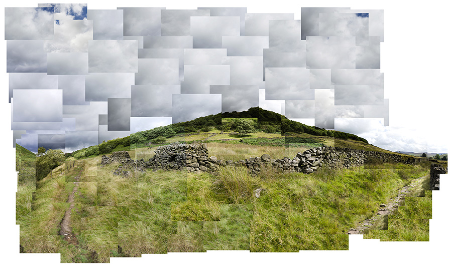 David hockney photo-montage interpretation youtube.