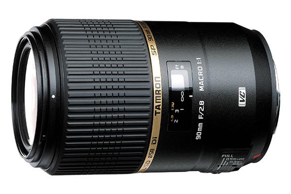 Tamron 90mm f/2.8 Di VC USD Macro