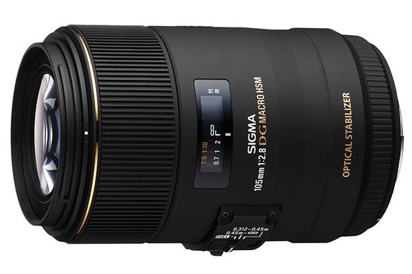Sigma 105mm f/2.8 Macro EX DG OS HSM