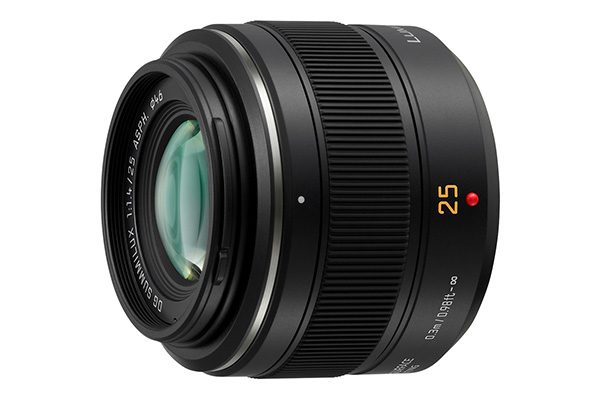 Panasonic 25mm f/1.4 Leica DG Summilux MFT