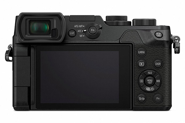 Panasonic GX8 - back