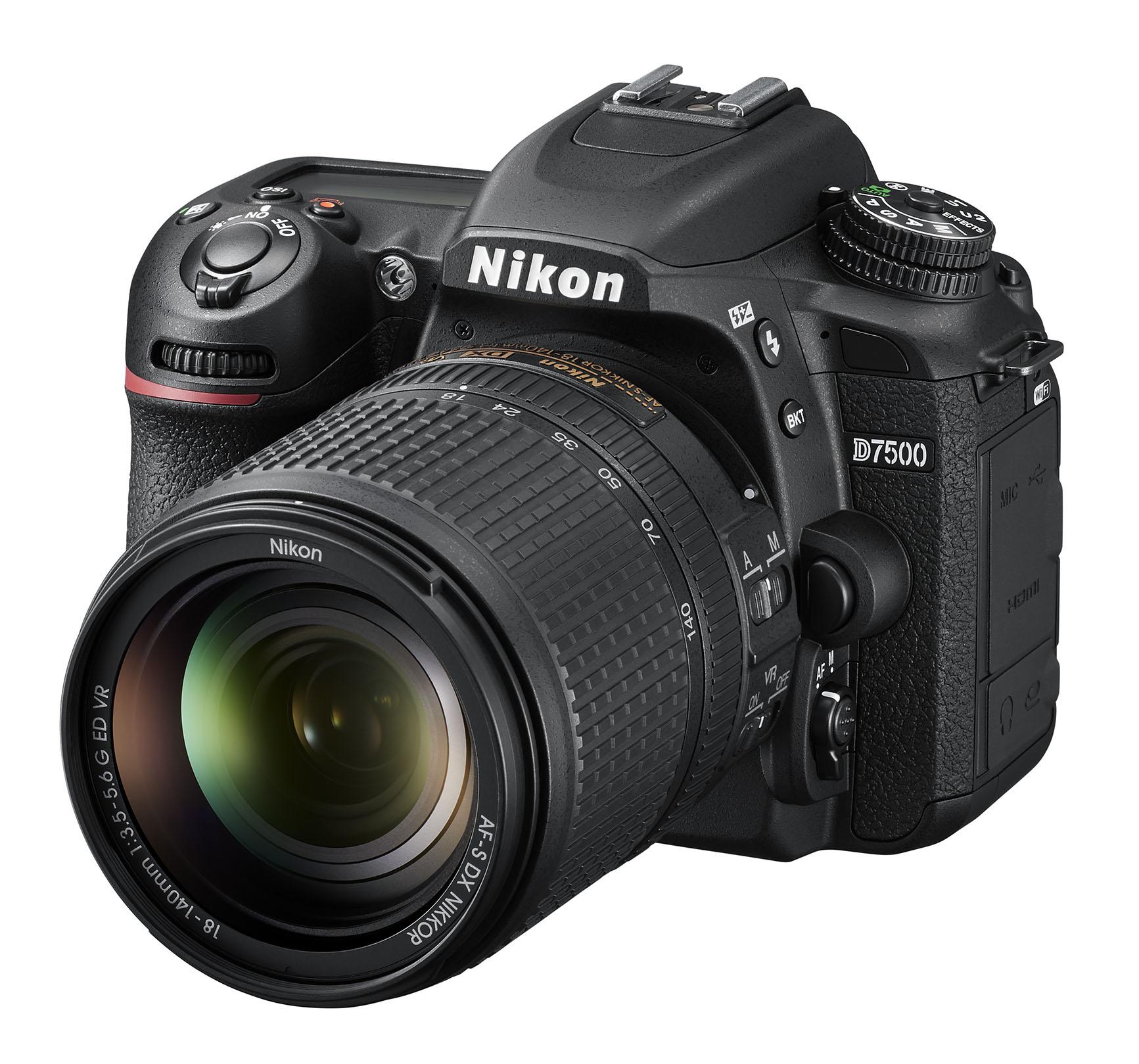 The new Nikon D7500 DSLR