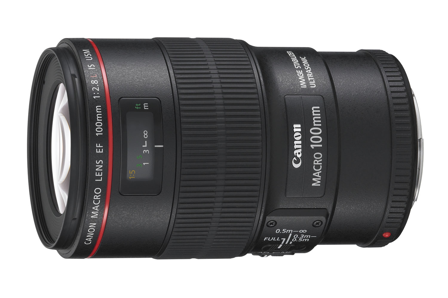 The L-series Canon EF 100mm f/2.8L Macro IS USM