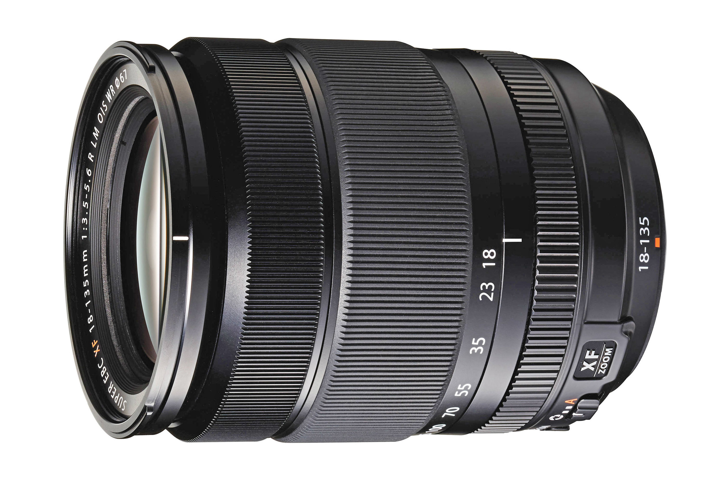 The Fujifilm XF 18-135mm f/3.5-5.6 R LM OIS WR lens for mirrorless cameras