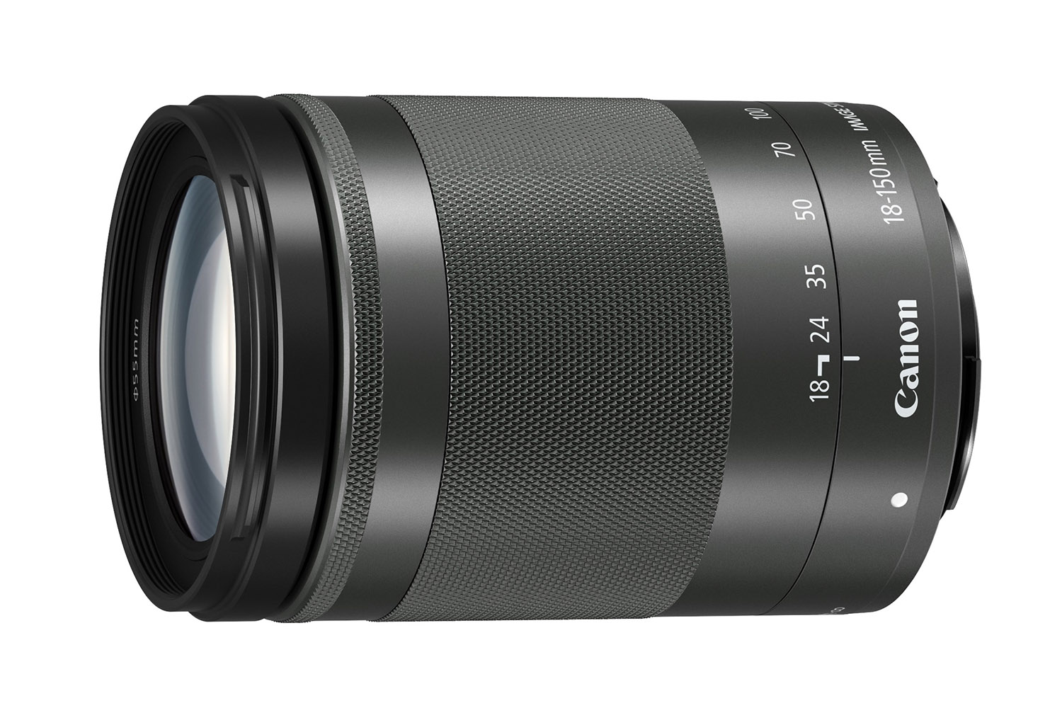 The Canon EF-M 18-150mm f/3.5-6.3 IS STM lens for mirrorless cameras