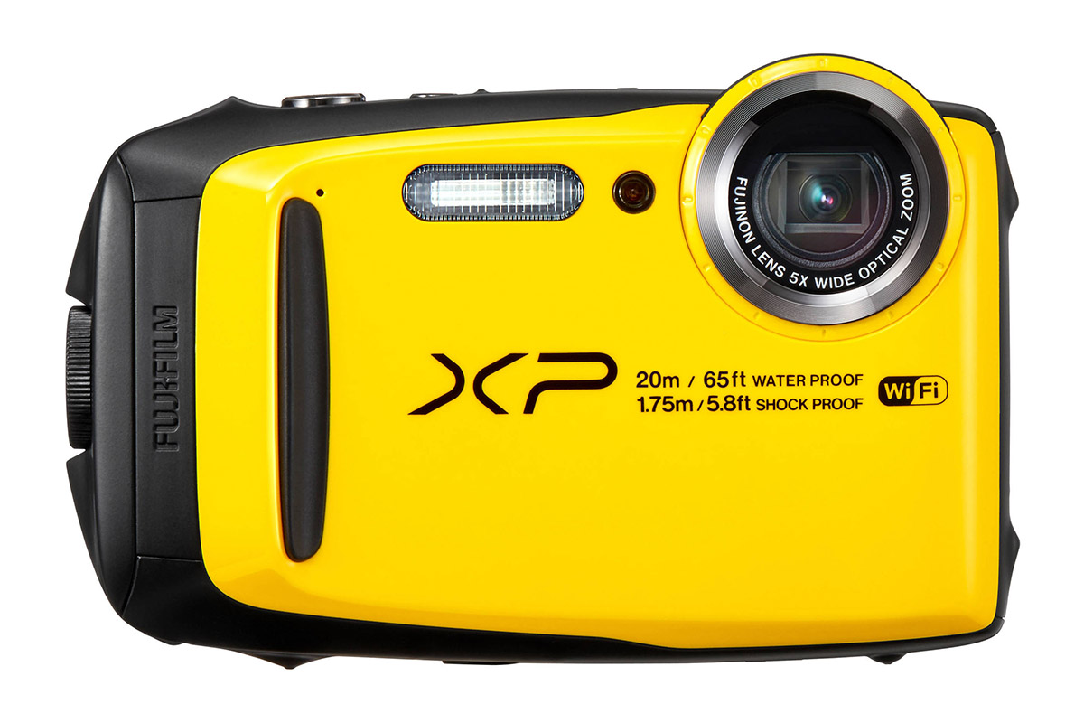 the waterproof Fujifilm XP120 compact camera