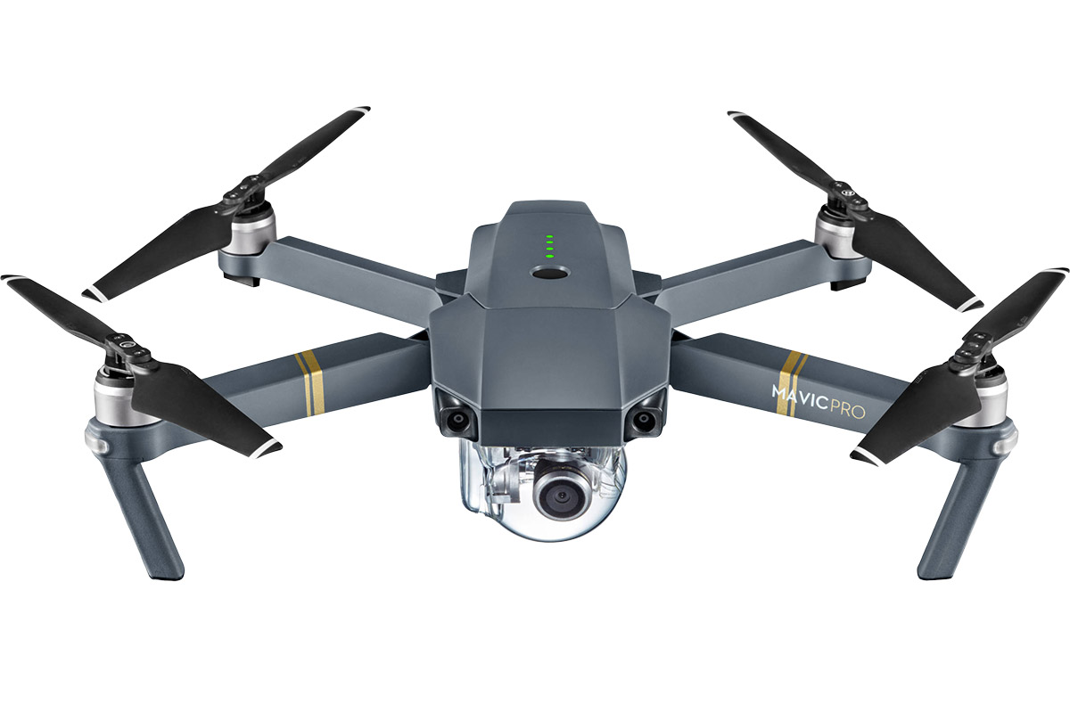 The enthusiast-level DJI Mavic Pro drone