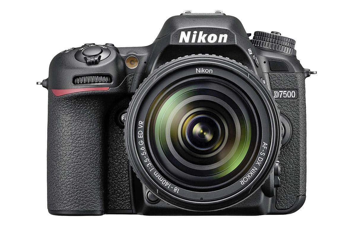The enthusiast-level Nikon D7500