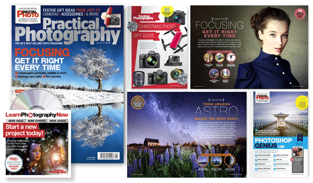 January 2018 issue of Practical Photography