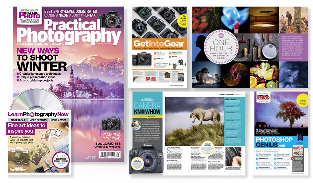 February 2018 issue of Practical Photography magazine