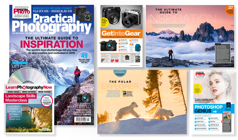 March 2018 issue of Practical Photography magazine