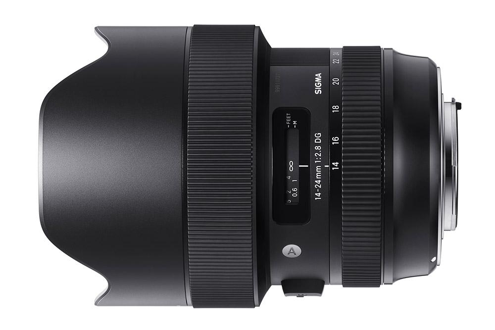 The Sigma 14-24mm f/2.8 DG HSM | Art lens is dust- and splash-proof