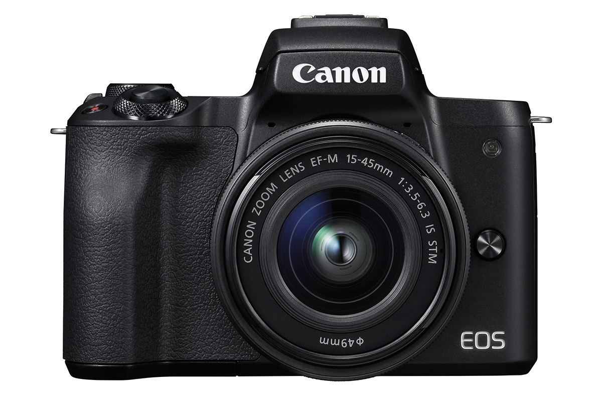 Canon EOS M50 mirrorless camera with 4K video
