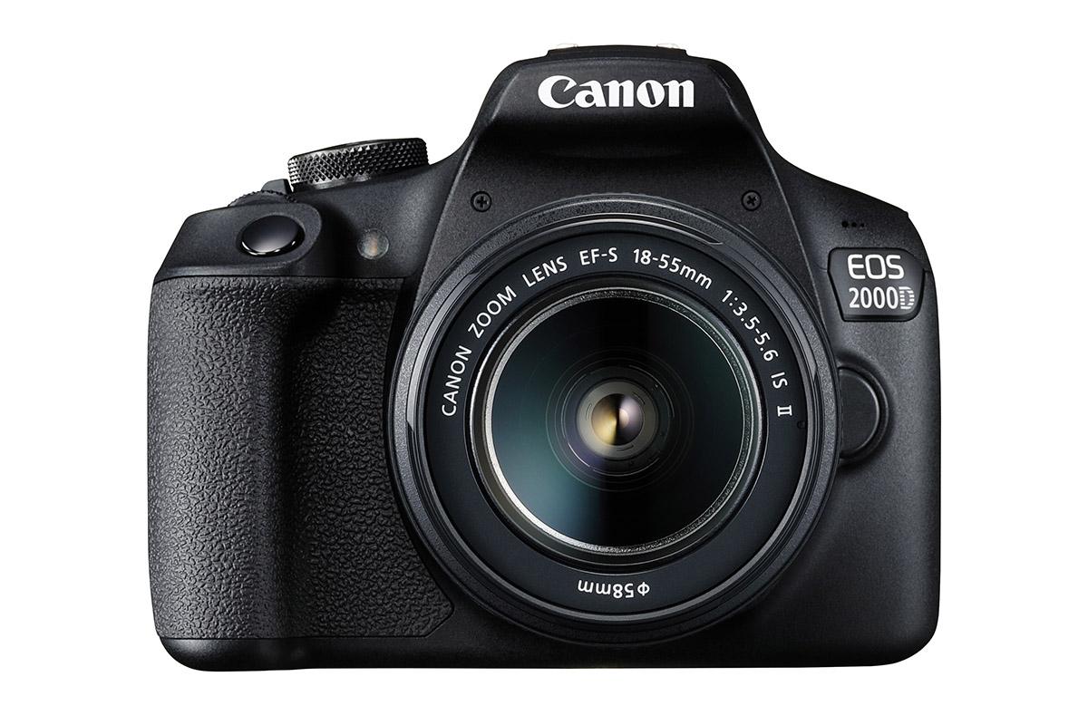 Canon EOS 2000D entry-level DSLR