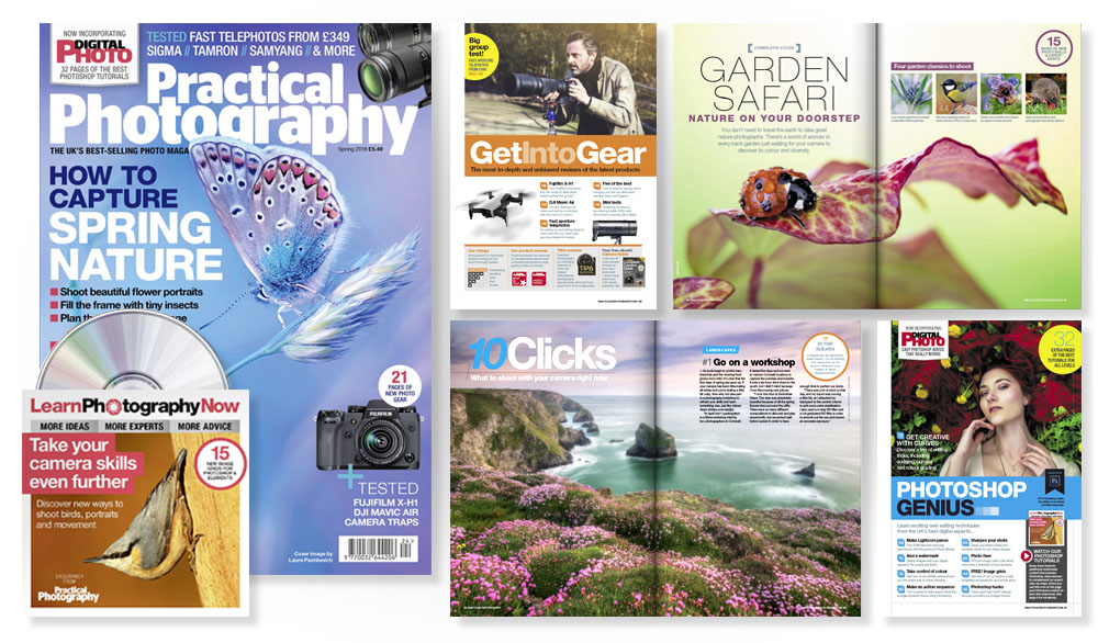 Spring 2018 issue of Practical Photography