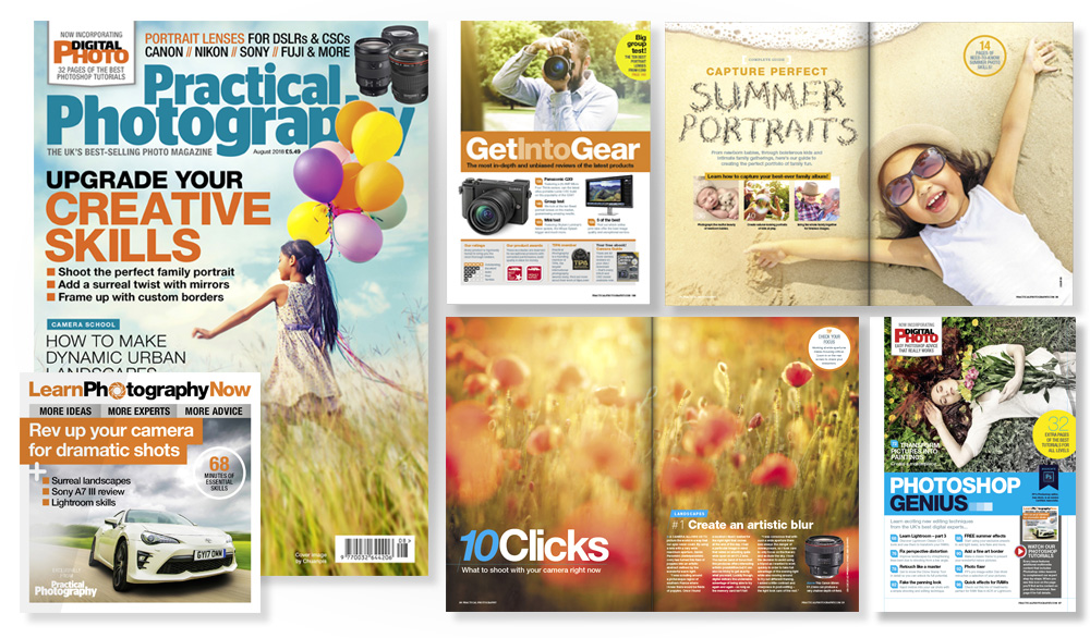August 2018 issue of Practical Photography magazine