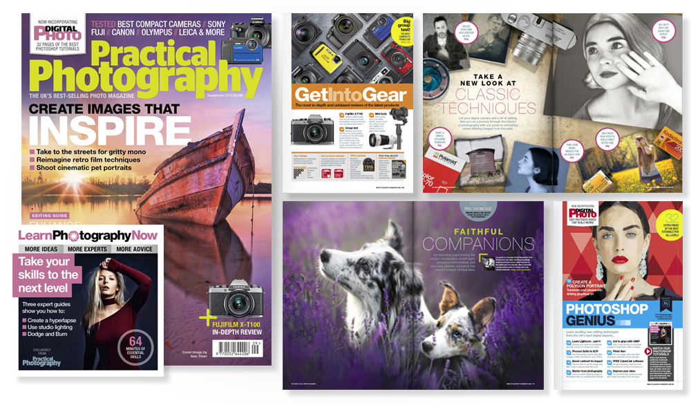 September 2018 issue of Practical Photography magazine