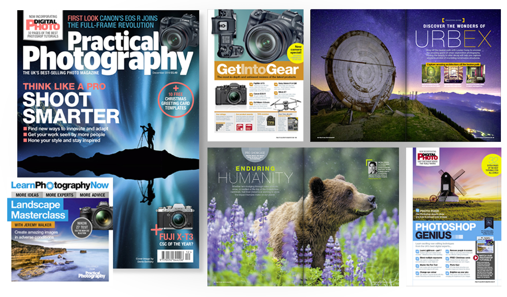 December 2018 issue of Practical Photography magazine