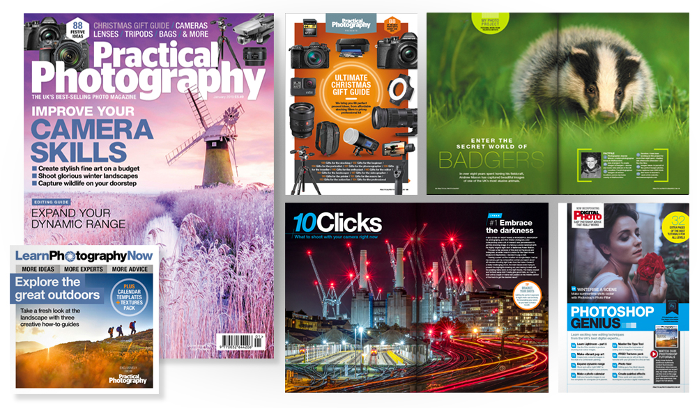January 2019 issue of PractIcal Photography magazine