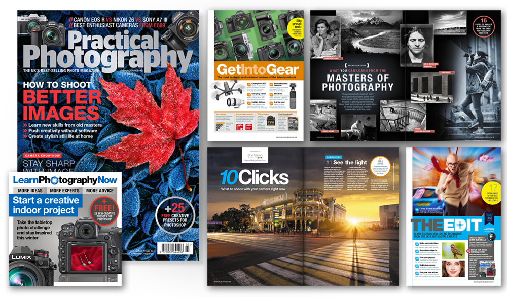 March 2019 issue of Practical Photography magazine