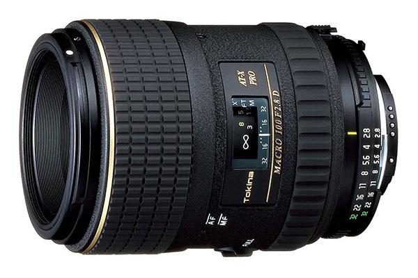 Tokina AT-X M100 AF Pro D 100mm f/2.8
