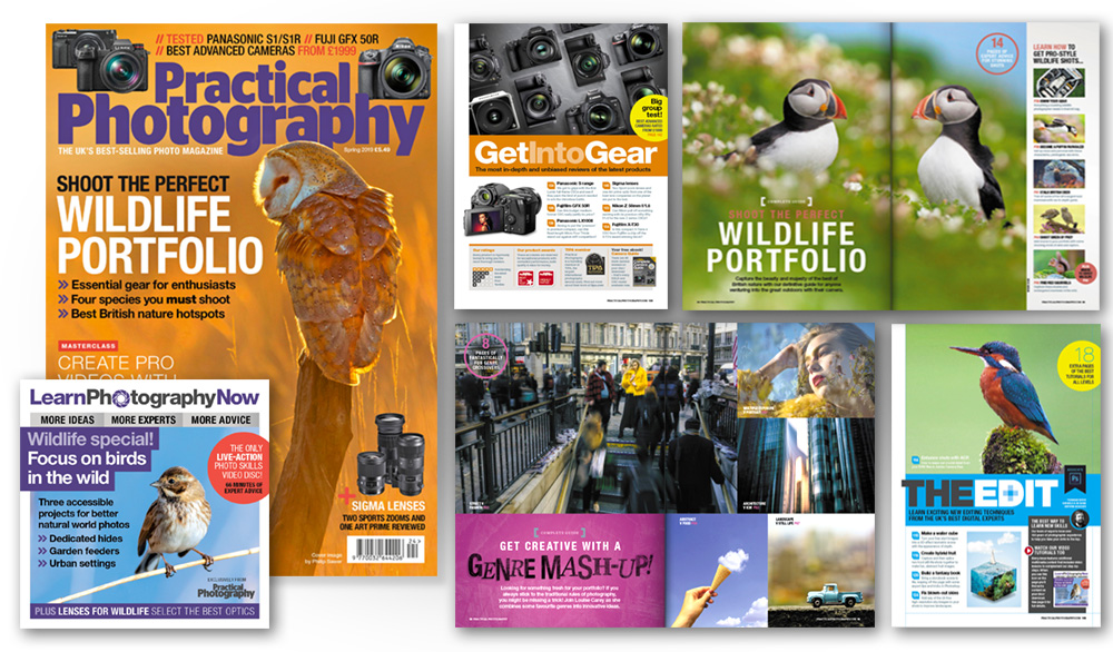 Spring 2019 issue of Practical Photography magazine