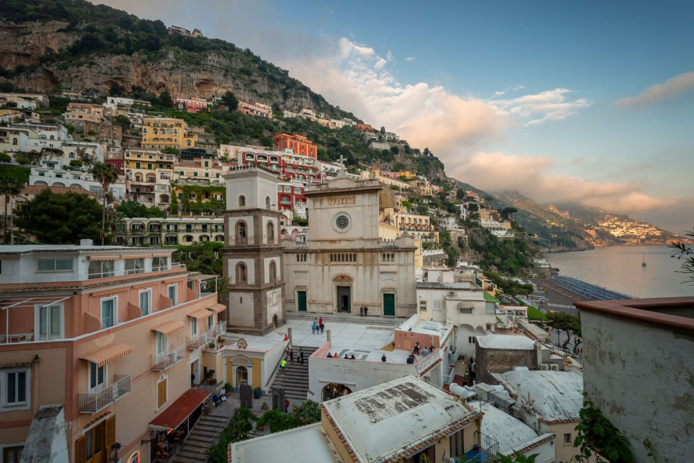 The ancient underground Bourbon Tunnels wind beneath the picturesque region of Naples