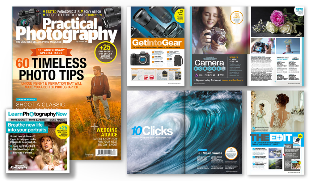 July 2019 issue of Practical Photography magazine