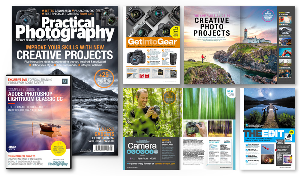 August 2019 issue of Practical Photography magazine