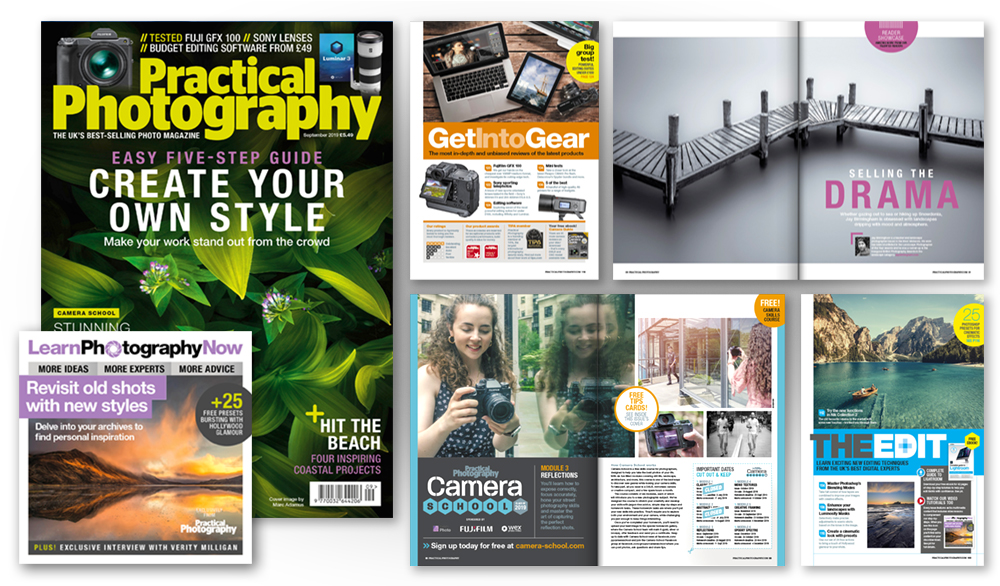 September 2019 issue of Practical Photography magazine