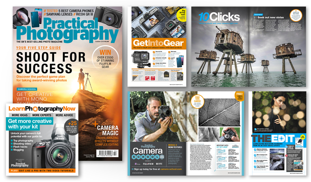 October 2019 issue of Practical Photography magazine