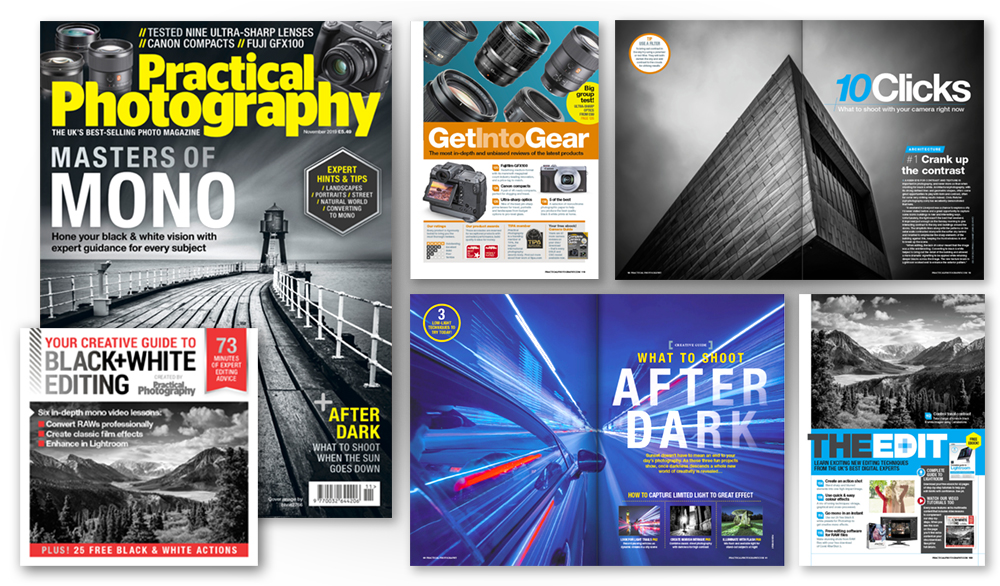 November 2019 issue of Practical Photography magazine