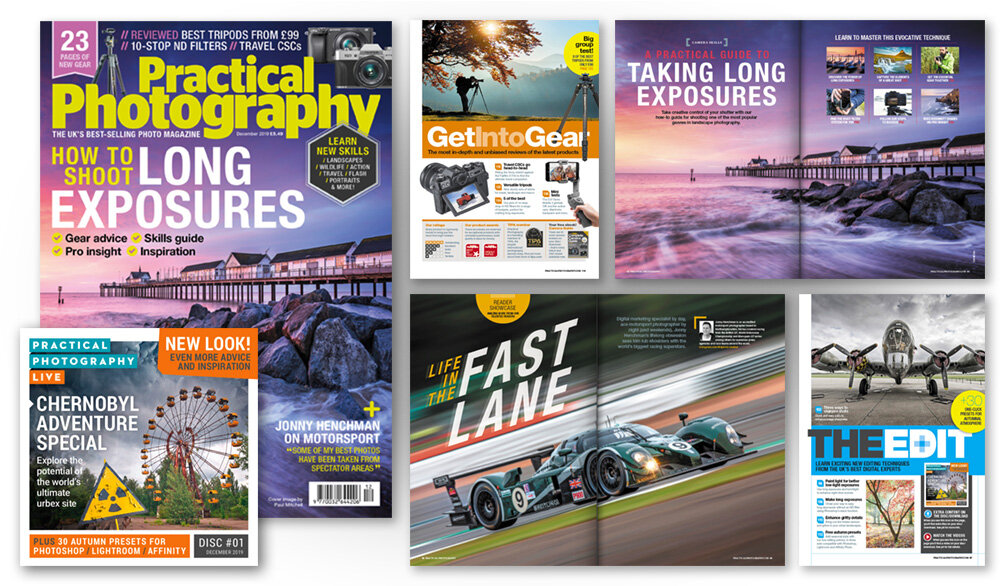 December 2019 issue of Practical Photography magazine