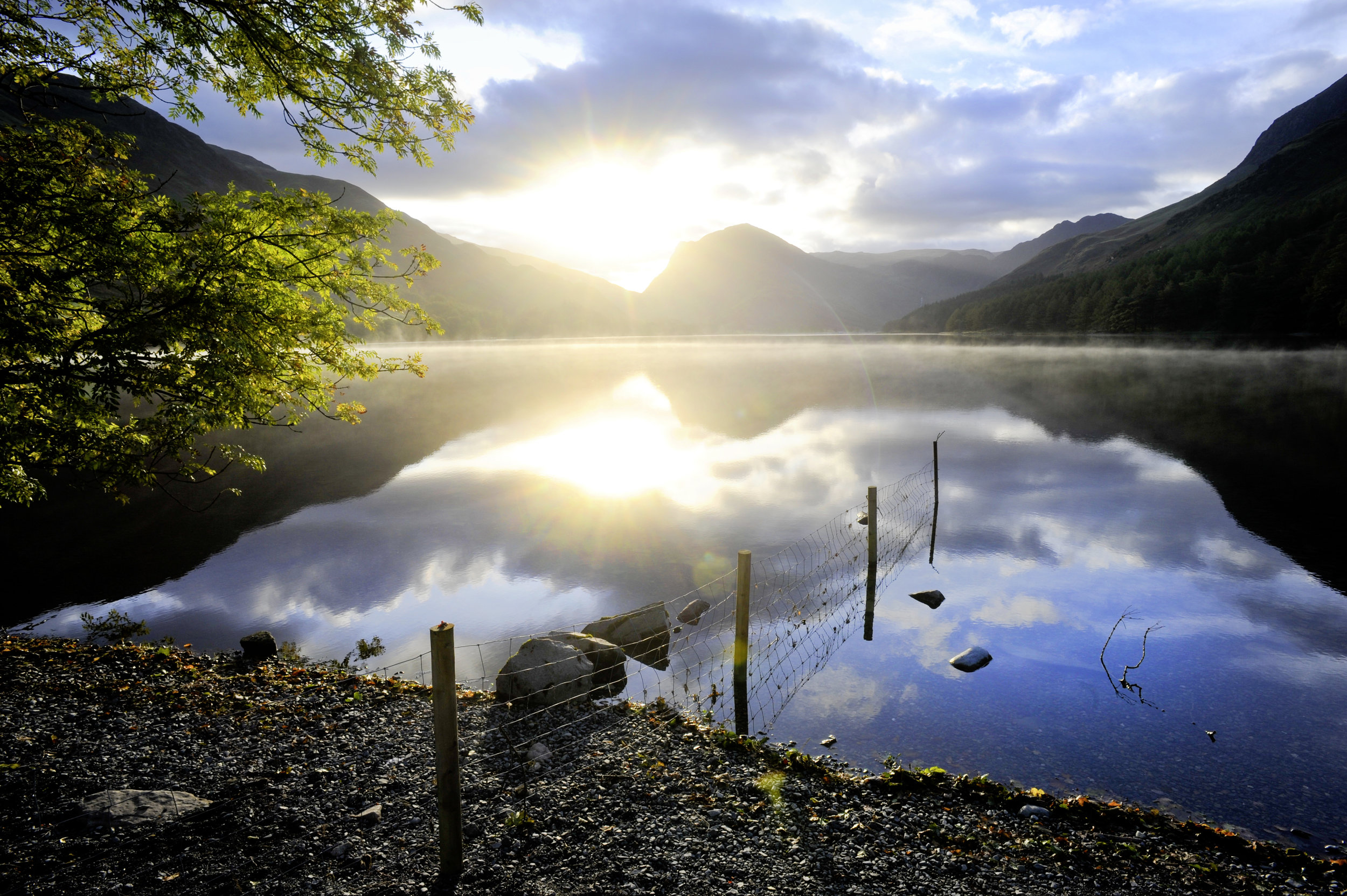 The gorgeous view down Crummock Water.  Photo : Matthew Roberts / Country Walking