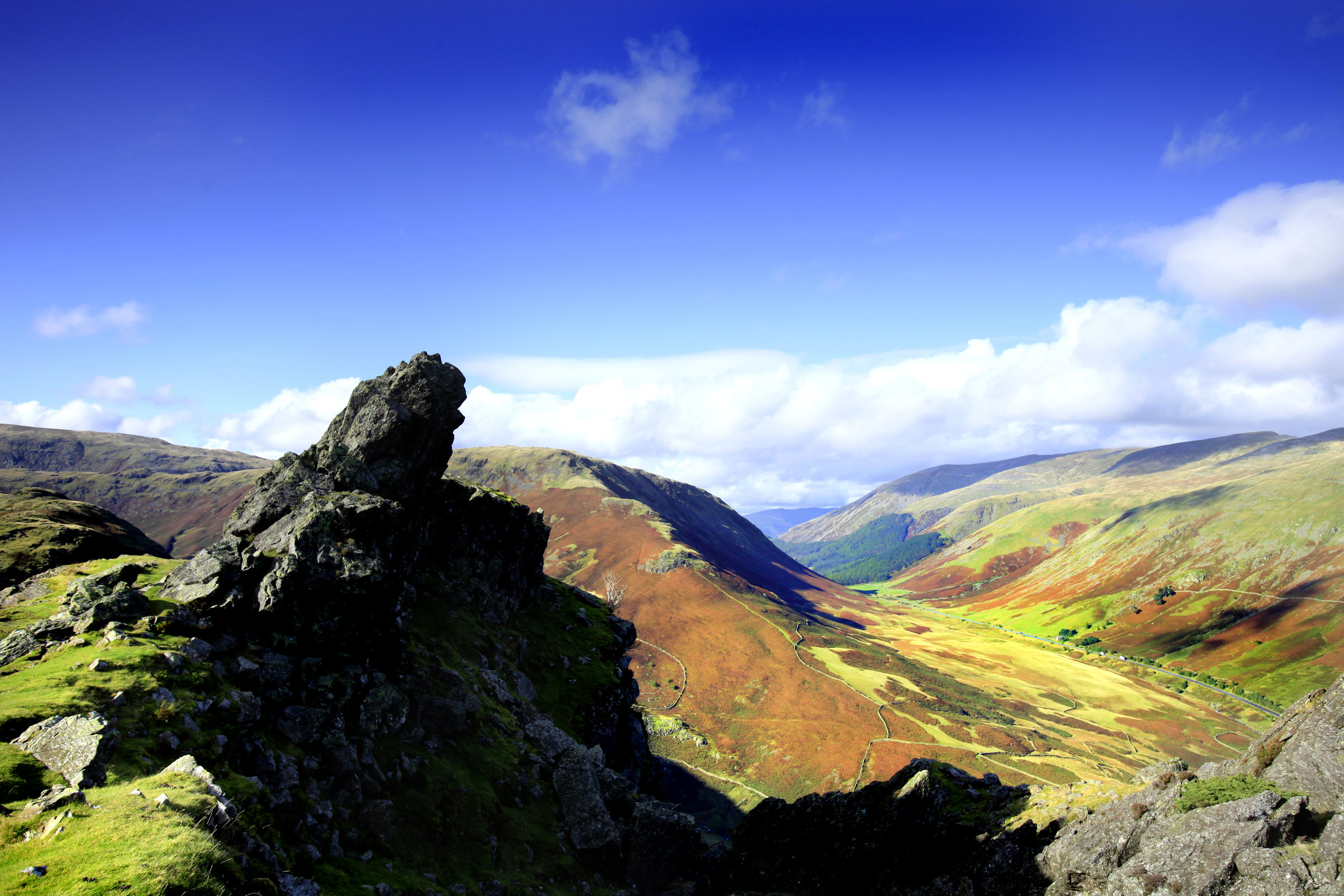 Helm Crag's Howitzer: an unmistakeable profile... and an unmissable challenge. Photo: Tom Bailey / Trail Magazine