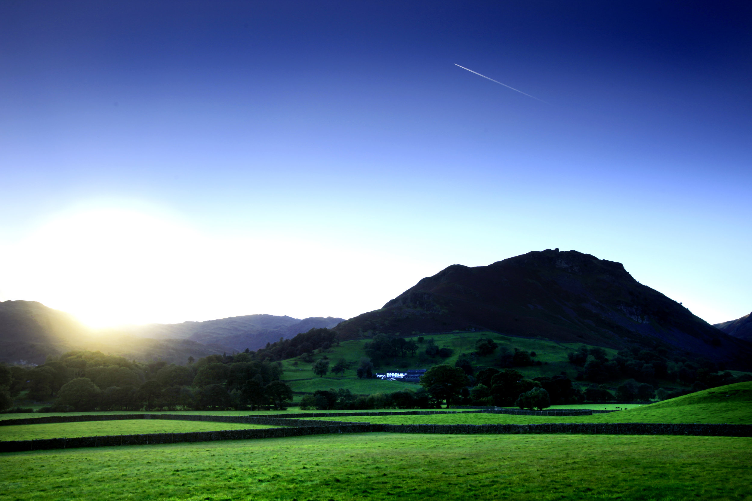Helm Crag from the A591 near Grasmere. Only the last 7 metres are frightening!  Photo : Tom Bailey / Trail Magazine
