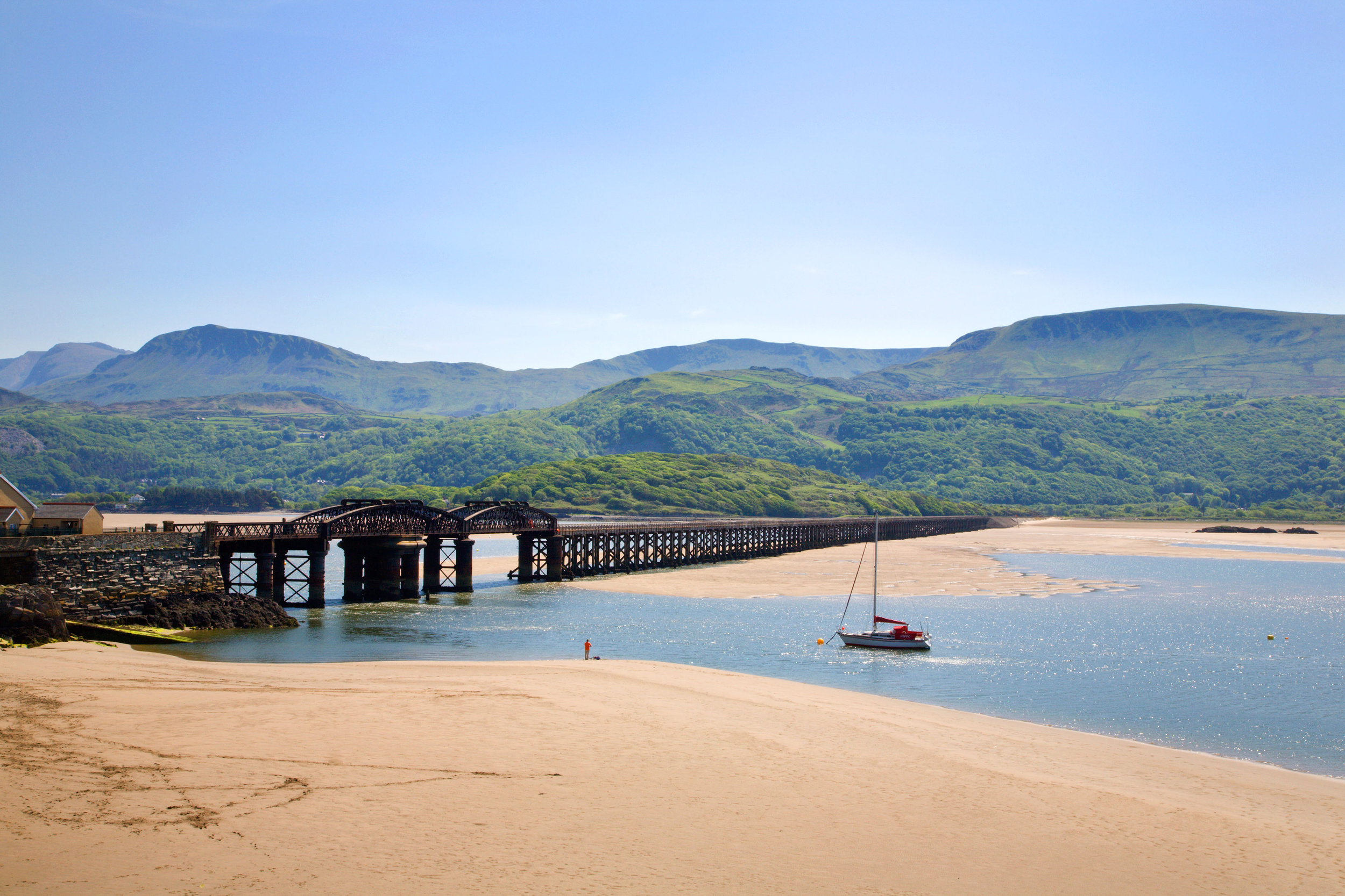The Mawddach Estuary. Photo: Alamy