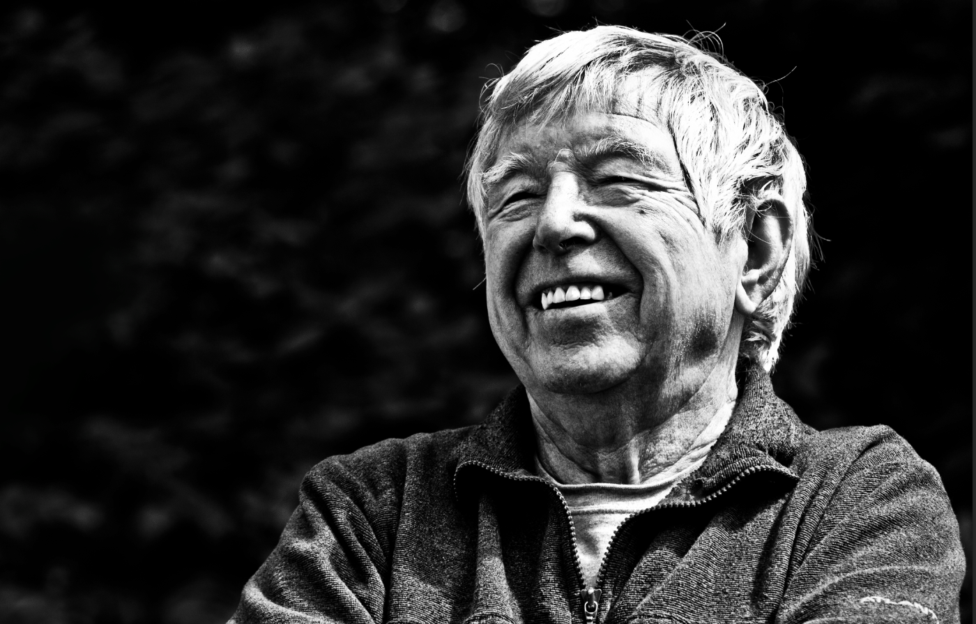 Joe Brown, Llanberis, 2012.  Photo : Simon Ingram / Trail Magazine