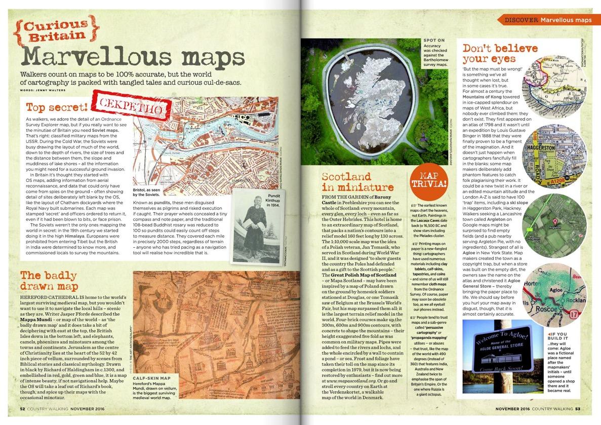 Curious cartography