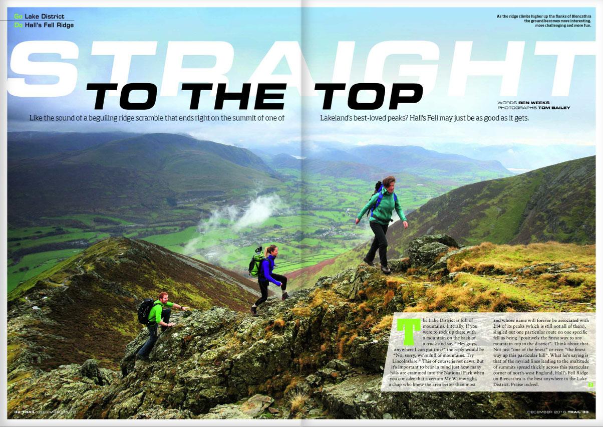 GO  Lake District -  DO  Hall's Fell Ridge