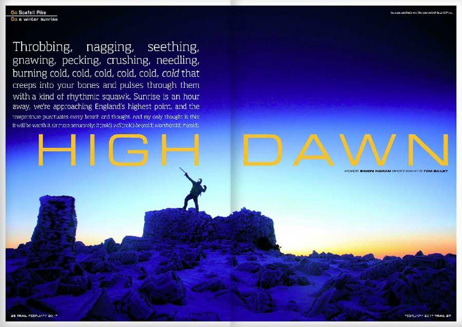 GO  Scafell Pike -  DO  a winter sunrise